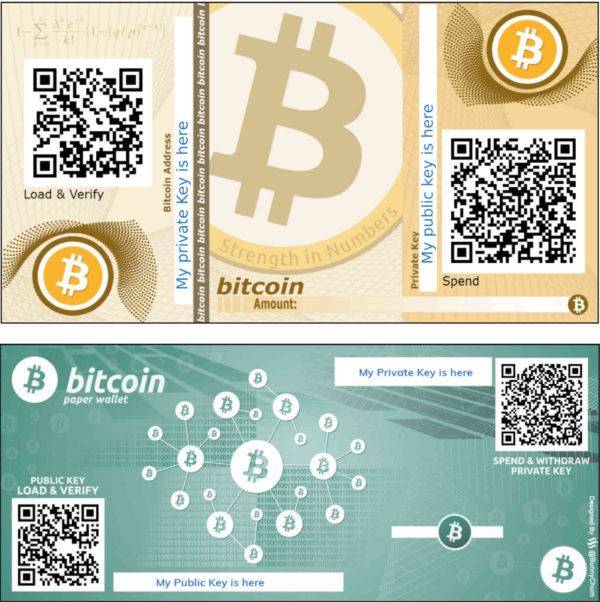 Bitcoin Geschenkkarte Produktbild Bitcoin Gutscheine bitcoin crypto cards bitcoin gift cards two design